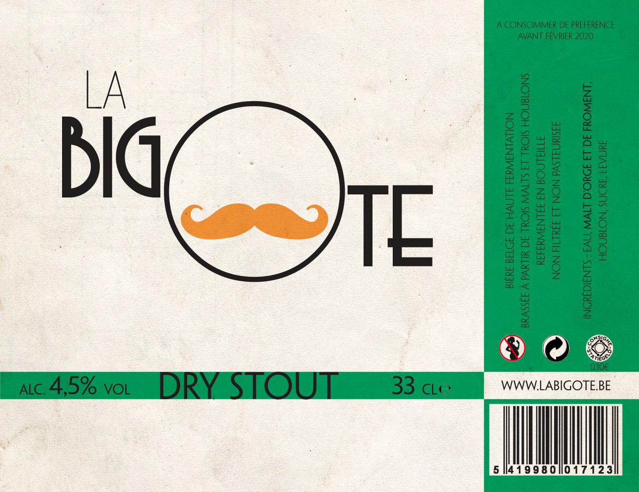 Etiquette 33cl Dry Stout retouche 02-2017